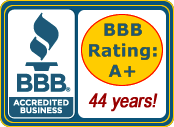 Better Business Bureau - Sunset Travel Inc - A+ Rating