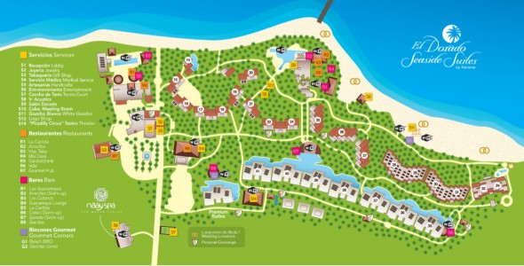 E Seaside Sensimar - Map - 01-2016