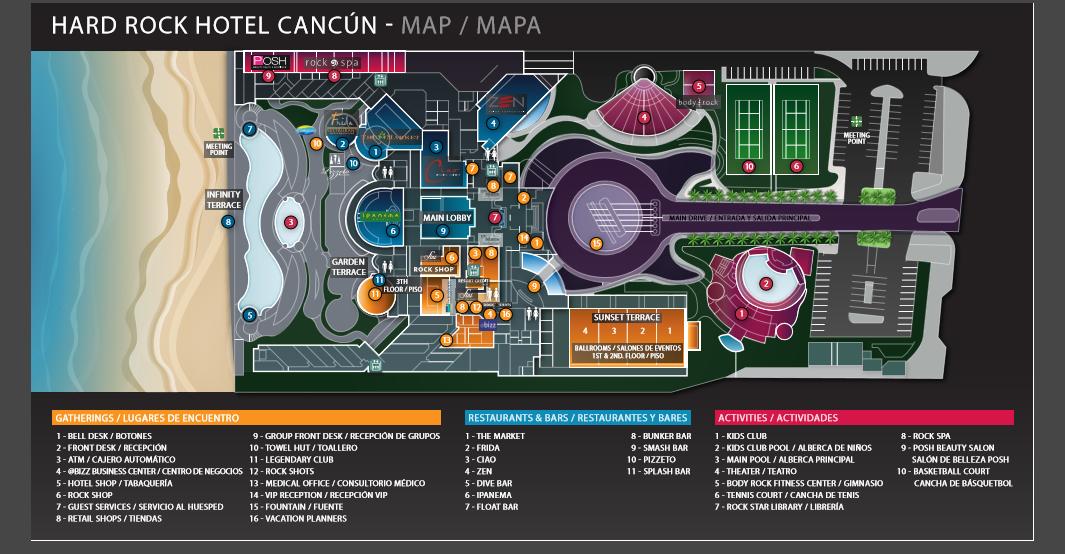 hard rock riviera maya map with Map Of The Hard Rock Cancun on Hard Rock Hotel Cancun All Inclusive Cancun Mexico additionally Real Estate also Grand Bahia Principe Bavaro also Riu Cancun in addition Iberostar Paraiso Maya.