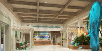 Margaritaville Island Reserve Riviera Cancun Lobby