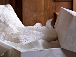 Packing Wedding Dress