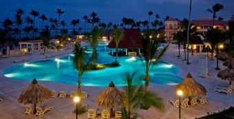 Luxury BahiaPrincipeAmbar - Pool (night)